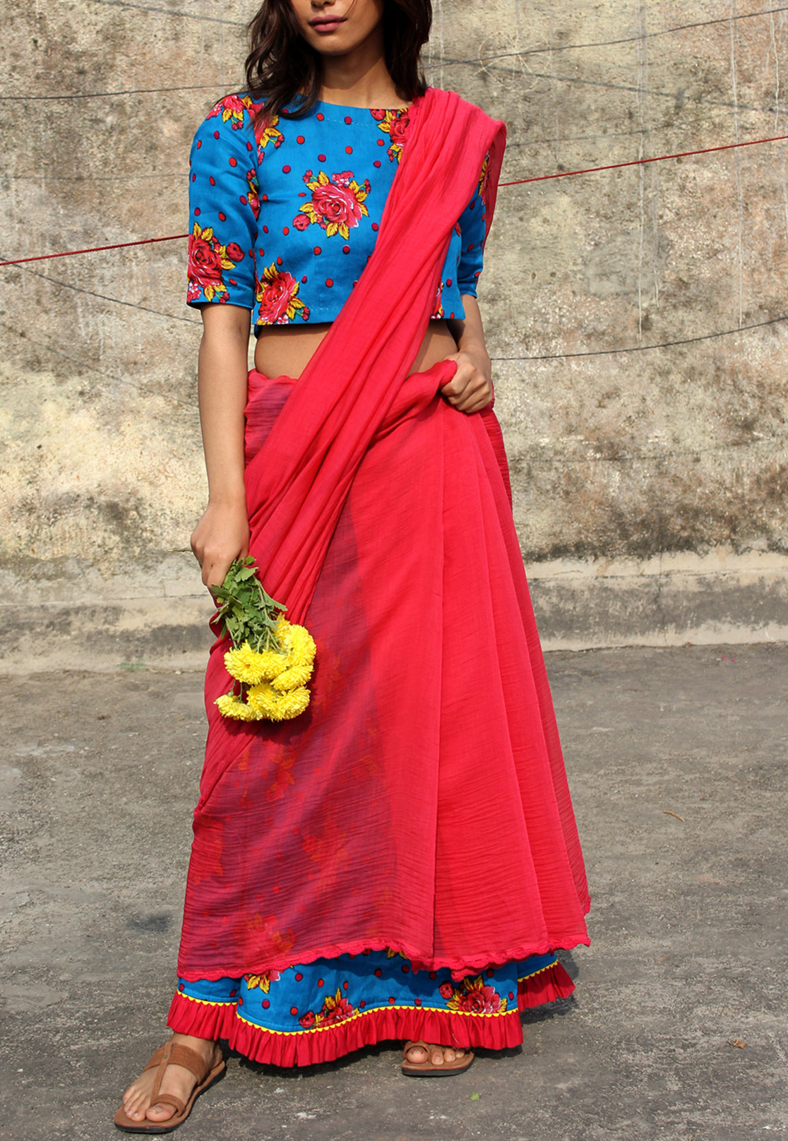 Chenab Cotton Saree